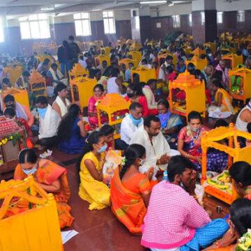 యాదాద్రి శ్రీలక్ష్మీనరసింహ ఆలయంలో కార్తీక శోభ…